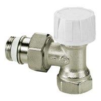 Термостатический радиаторный клапан угловой, НP-HP (3/4'' Евроконус)