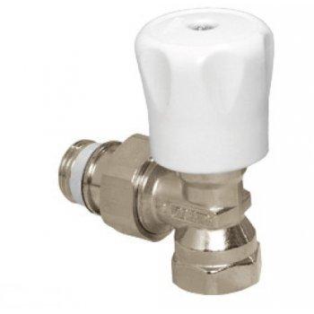 Ручной радиаторный вентиль угловой, BP-HP